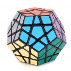 MF8 12-Color de Megaminx IQ Magic Cube - Base Negro