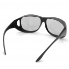 Fashion Non-Flash Circularly Polarized 3D Glasses - Black