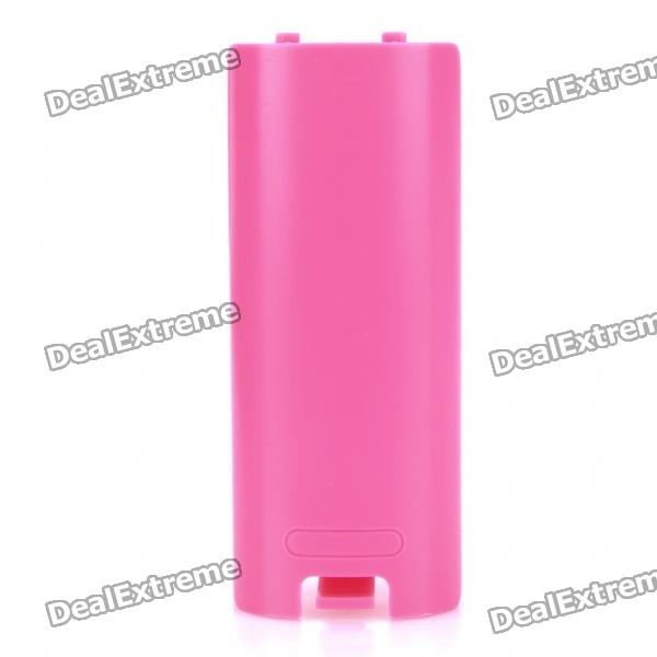 Replacement Nintendo Wii Controller Gamepad Battery Cover - Pink