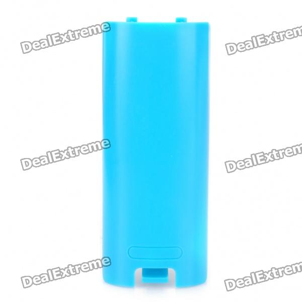 Replacement Nintendo Wii Controller Gamepad Battery Cover - Light blue