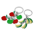 Apple and Banana Keychain for Couples (2-Piece Set)