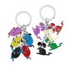Colorful Mice Keychain for Couples (2-Piece Set)