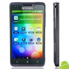 "HD2000 Android 2.3 Smartphone w / 4,3 ""Touch Screen, Wi-Fi, Quadband, Dual SIM, TV und GPS - Schwarz"