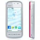 "Refurbished Nokia 5230 3.2"" Touch Screen Symbian S60 v5 3G WCDMA Smartphone w/ GPS + 2GB TF - Pink"