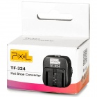Pixel TF-324 Sony Alpha Flash Hot Shoe Converter Adapter - Black
