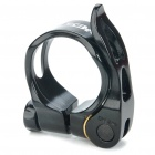 AEST 31.8mm Aluminum Alloy Bicycle Seat Post Clamp - Black