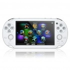 "4.3"" LCD Portable Game Console Media Player w/ Built-in Games / Camera / FM / TV-Out / TF (4GB)"