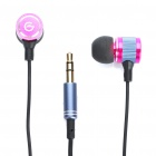 CK-800 Stylish Earphone with Earbuds (3.5mm Jack / 1.2M-Cable)