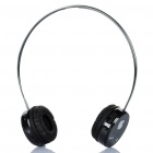 Designer's 2.4GHz Bluetooth V2.1 Handsfree Stereo Headset Headphone - Black