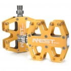 AEST Replacement Titanium Alloy Mountain Bike Pedals Set - Golden