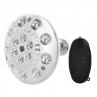 E27 1.6W 5000K 200LM Energy Saving Remote Control 15-LED White Light Bulb (100-240V)