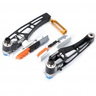 AEST Aluminum V Brake Caliper Set - Black