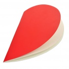 Stilvolle Love Heart Shaped Notebook / Memo Pad - Red (32-Sheet)