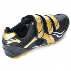 Stylish Mountain MTB Bike Cycling Carbon Fiber Practical Shoes - Golden + Black (EUR Size-40)