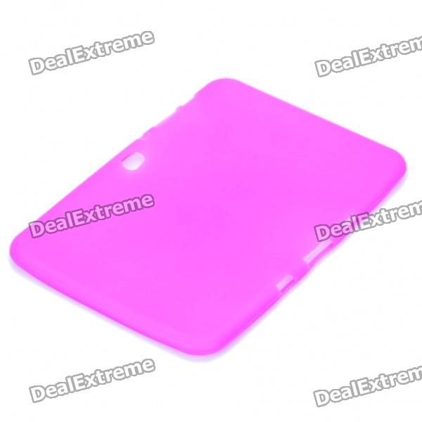 """Protective Soft Silicone Case for Samsung Galaxy Tab 8.9"""" P7310/P7300 - Purple"""