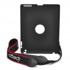 IPEGA Protective Plastic Back Case w/ Shoulder Strap for Ipad 2 - Black