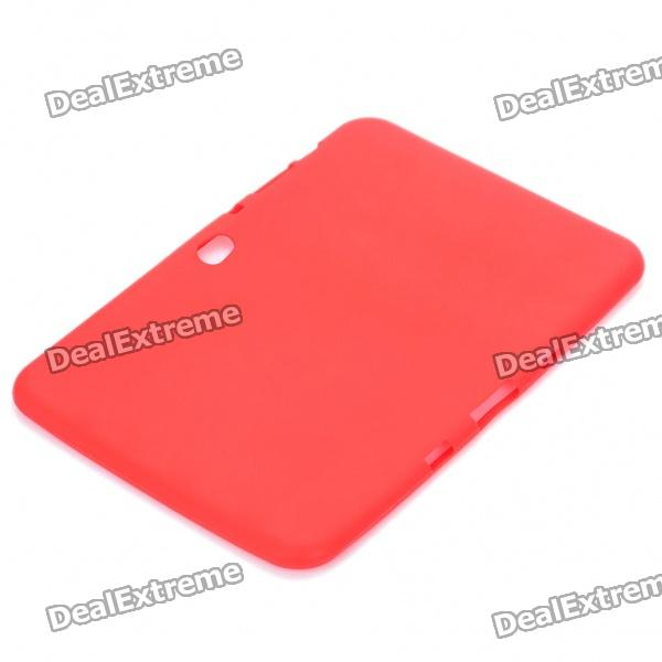 "Protective Soft Silicone Case for Samsung Galaxy Tab 8.9"" P7310/P7300 - Red"