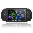 "4.3"" LCD Portable Game Console Media Player w/Built-in Games / Camera / FM / TV-Out / TF(4GB)- Black"