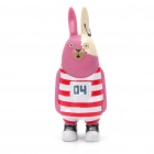 Buy Cute Vinyl Usavich Prison Rabbit Toy Doll w/ Suction Cup - Purple + Red + White