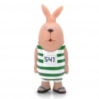 Buy Cute Vinyl Usavich Prison Rabbit Toy Doll w/ Suction Cup - Green + White + Light Yellow