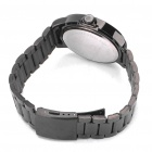 EYKI Stainless Steel Glow-in-the-Dark Wrist Watch - Black (1 x LR626)