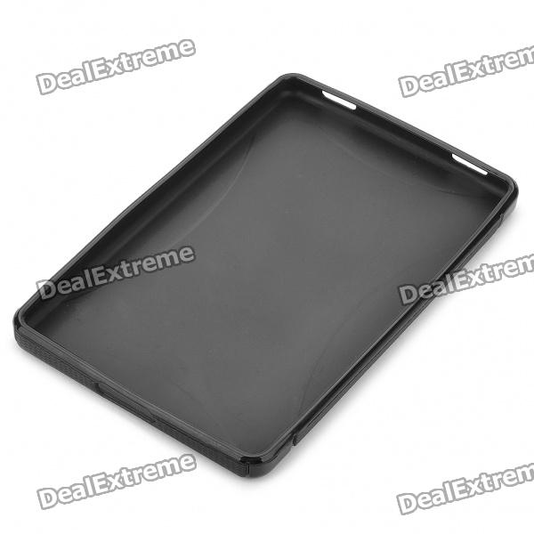 """Protective Silicon Case for Kindle Fire 7"""" / 7"""" HD Tablet PC - Black"""
