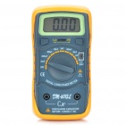 "DM-6013L 1.8"" LCD Digital Capacitor Meter - Orange + Black (1 x 6F22/9V Battery)"