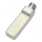 E27 8.6W 3200K 800LM 44-5050 SMD LED Warm White Light Bulb (AC 100~240V)