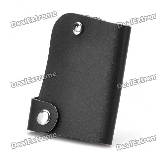 Protective Vehicle Logo PU Leather Pouch for Car Smart Key - Toyota