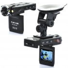 "1080P 3MP Wide Angle Car DVR Camcorder w/ 8-LED IR Night Vision / HDMI / TF Slot (2"" TFT LCD)"
