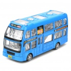 Double-decker Bus Toy with Light & Sound Effects (3 x AA)