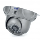 Anti-Explosion Fixed Focus 1/3 CCD Security Camera w/ 24-LED IR Night Vision (12mm Lens)