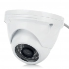 Anti-Explosion Fixed Focus 1/4 CCD Security Camera w/ 36-LED IR Night Vision (6mm Lens)