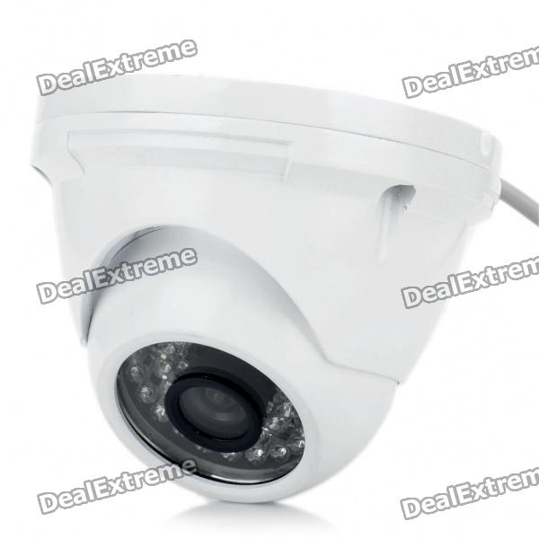 Anti-Explosion Fixfokus 1/4 CCD Security Camera w / 36-LED IR Nachtsicht (12mm-Objektiv)