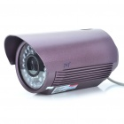 Water Resistant Fixed Focus 1/3 CCD Security Camera w/ 36-LED IR Night Vision (8mm Lens)