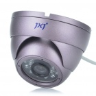 Anti-Explosion Fixed Focus 1/4 Sharp CCD Security Camera w/ 24-LED IR Night Vision (12mm Lens)