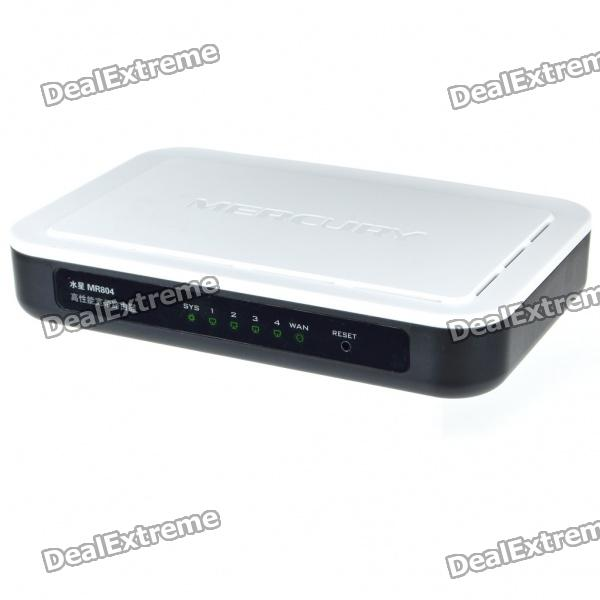 Mercury MR804 Wired 4 Port SOHO Broadband Router (White)