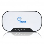 Pocket Portable 3G 802.11 b/g WiFi Wireless Router - White