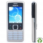 "Refurbished Nokia 6300 GSM Cell Phone w/ 2.0"" LCD Screen, Tri-band, Java and FM - Silver + Black"