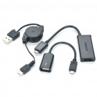 Designer's Micro USB to HDMI MHL Adapter Cables Set for Samsung / HTC