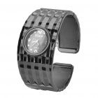 Women's Fashion Bracelet Style Wrist Watch - Black