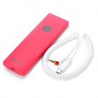 TK1 Portable Handset for Iphone / Ipad / Smart Phone / Tablet PC - Red (3.5mm Jack)
