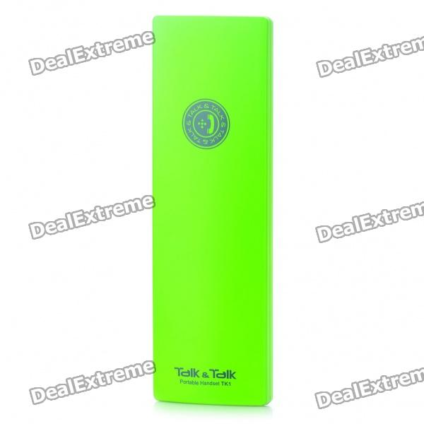 TK1 Portable Handset for Iphone / Ipad / Smart Phone / Tablet PC - Green (3.5mm Jack)