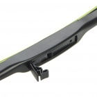 "Universal 22"" Auto Car Silent Windshield Wiper Blade - Black"