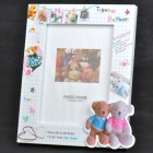 "7"" Elegant Bear Style Photo Frame"