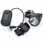 XC-997B 3W 200LM 3-Mode White LED Bicycle Bike Light (4 x AA)