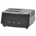 "USB 3.0 Dual 2.5"" / 3.5"" SATA HDD Docking Station - Black"