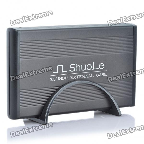 "USB 2.0 Hard Disk Drive Enclosure for 3.5"" SATA HDD - Black Moreno Valley Buy goods"