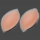 Oval Shaped Silicone Breast Enhancers / Bra Inserts (Pair)
