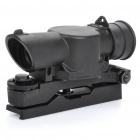 Professional 4X Rifle Scope with Gun Mount